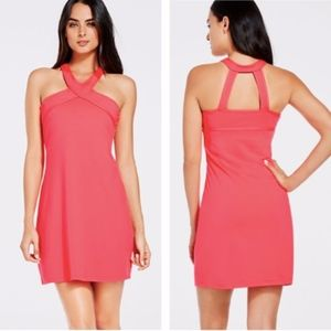 Fabletics Chicago Athletic Neon Pink Dress